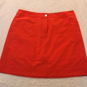 Cutter & Buck Golf Skort - Orange
